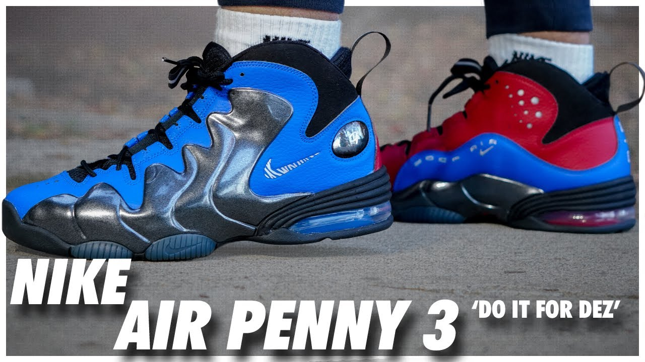 Nike Air Penny 3 Do it for Dez