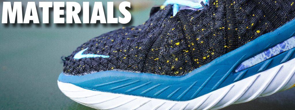 Nike LeBron 18 Materials