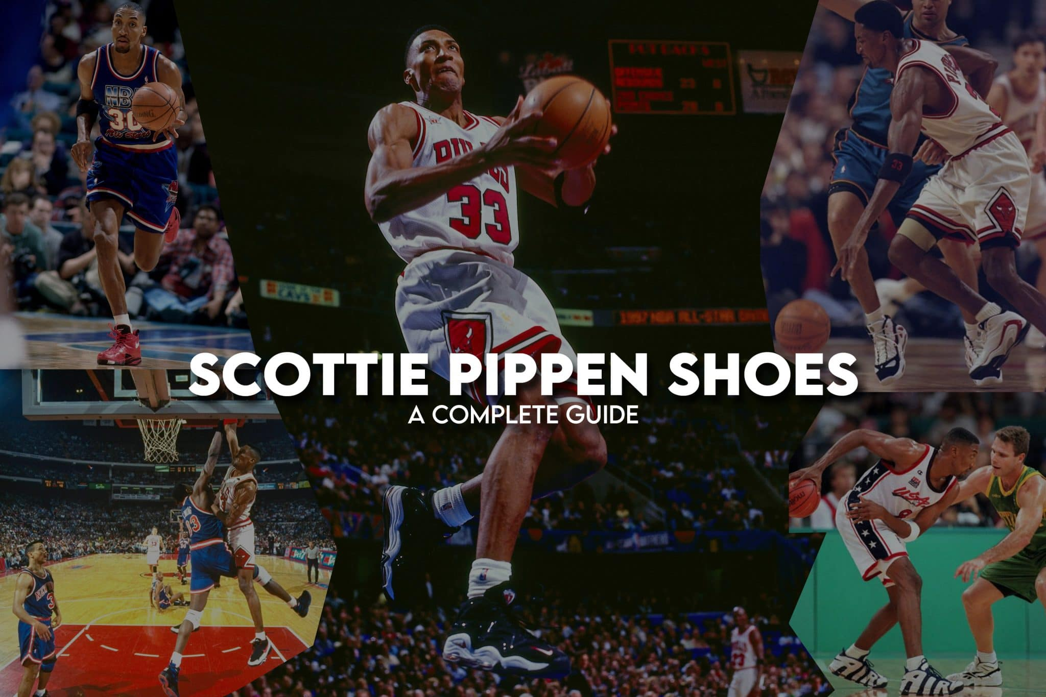 Scottie Pippen Shoes
