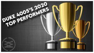 2020 Top Performers