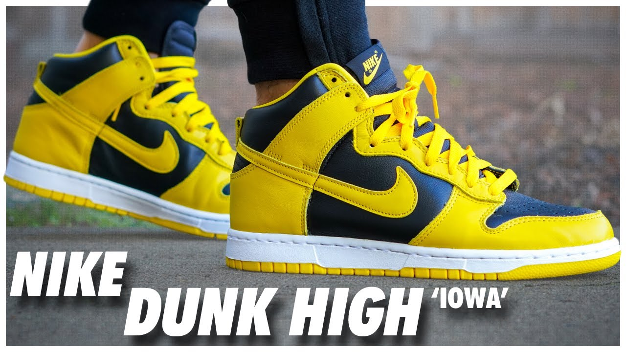 Nike Dunk High Iowa 2020