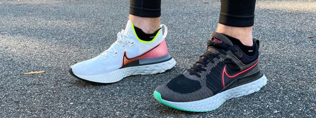 Nike Infinity Run vs Infinity Run 2 Sideview 2