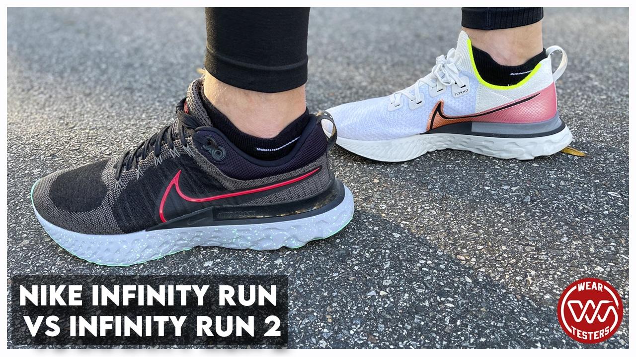 Nike Infinity Run vs Infinity Run 2 - WearTesters
