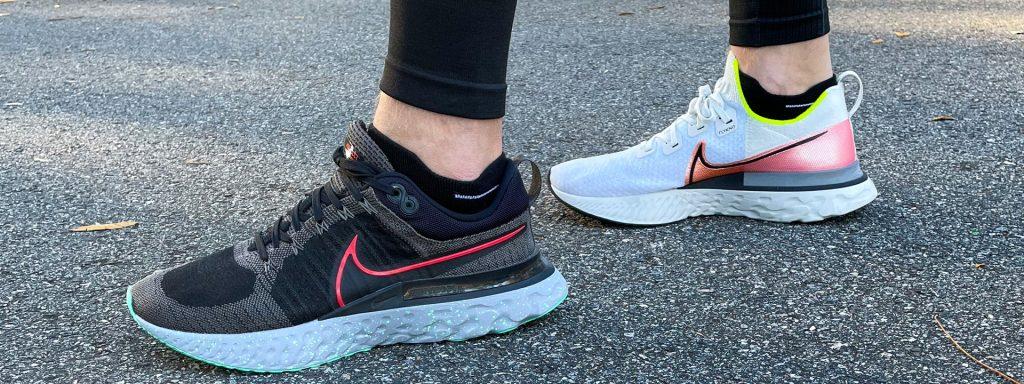 Nike Infinity Run vs Infinity Run 2 Sideview 4