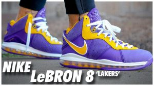 Nike LeBron 8 Retro Lakers