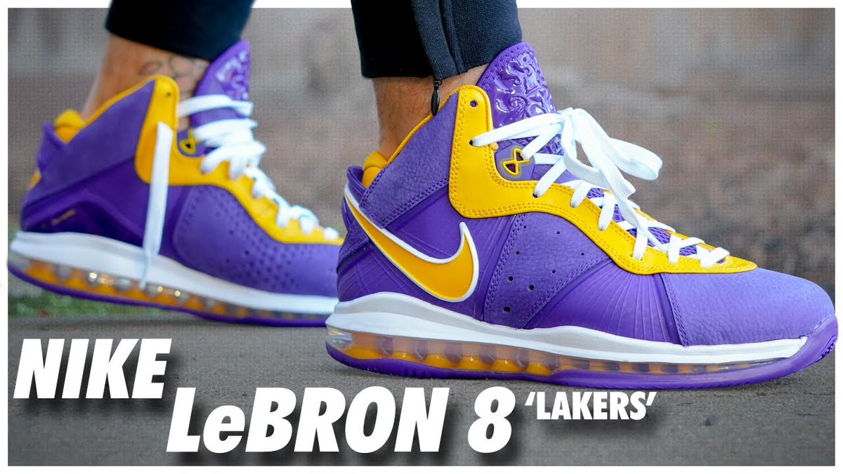 Nike LeBron 8 Retro Lakers