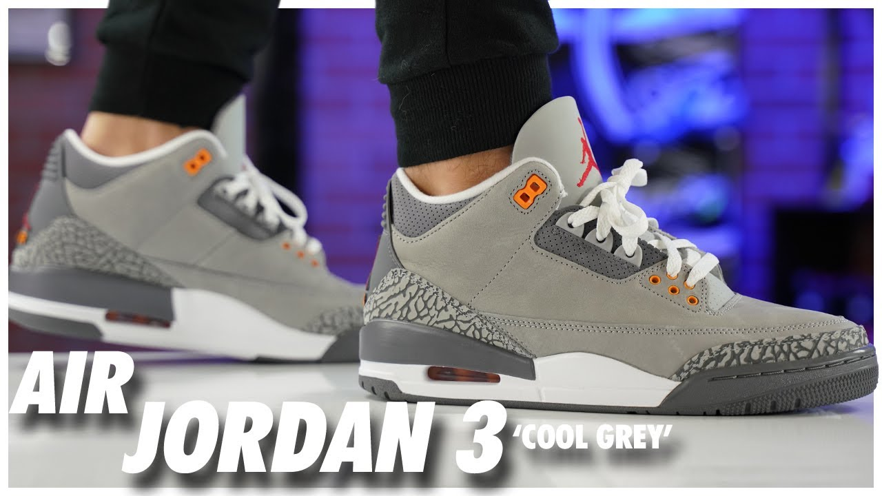 Air Jordan 3 Cool Grey 2021