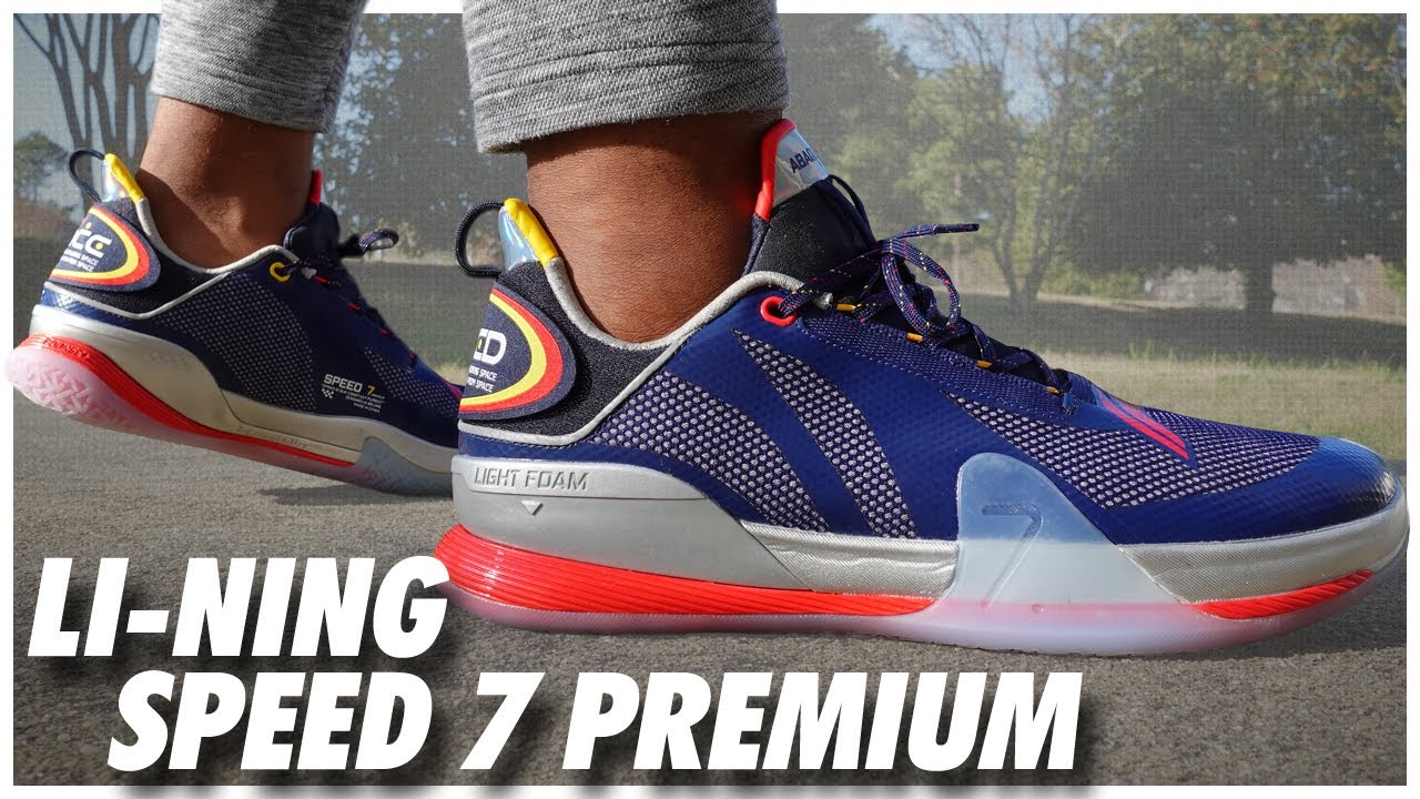 Li-Ning Speed 7 Premium