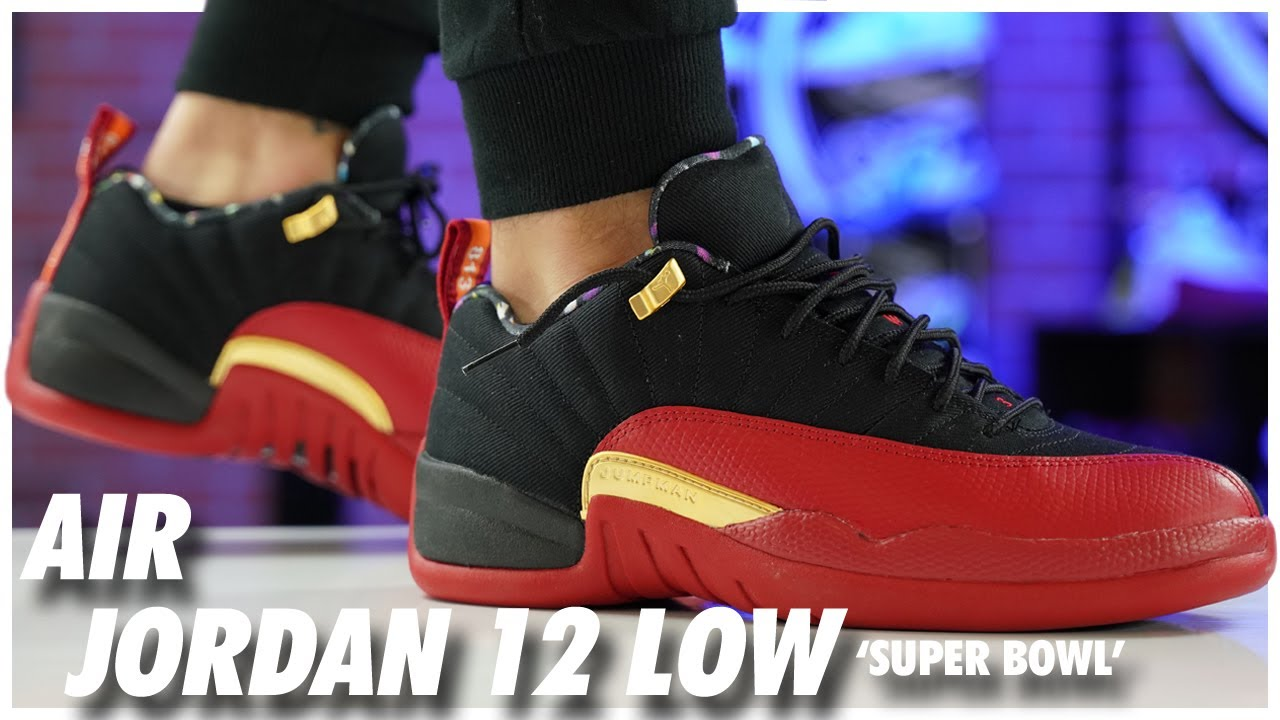air jordan 12 low super bowl