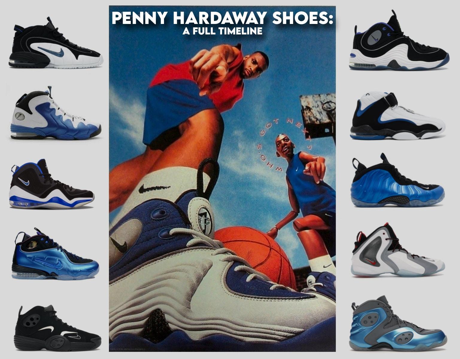 Penny Hardaway Shoes