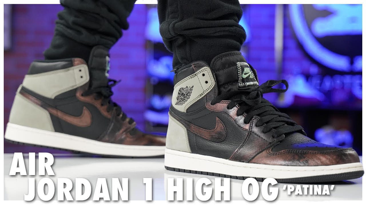 Air Jordan 1 High OG Patina