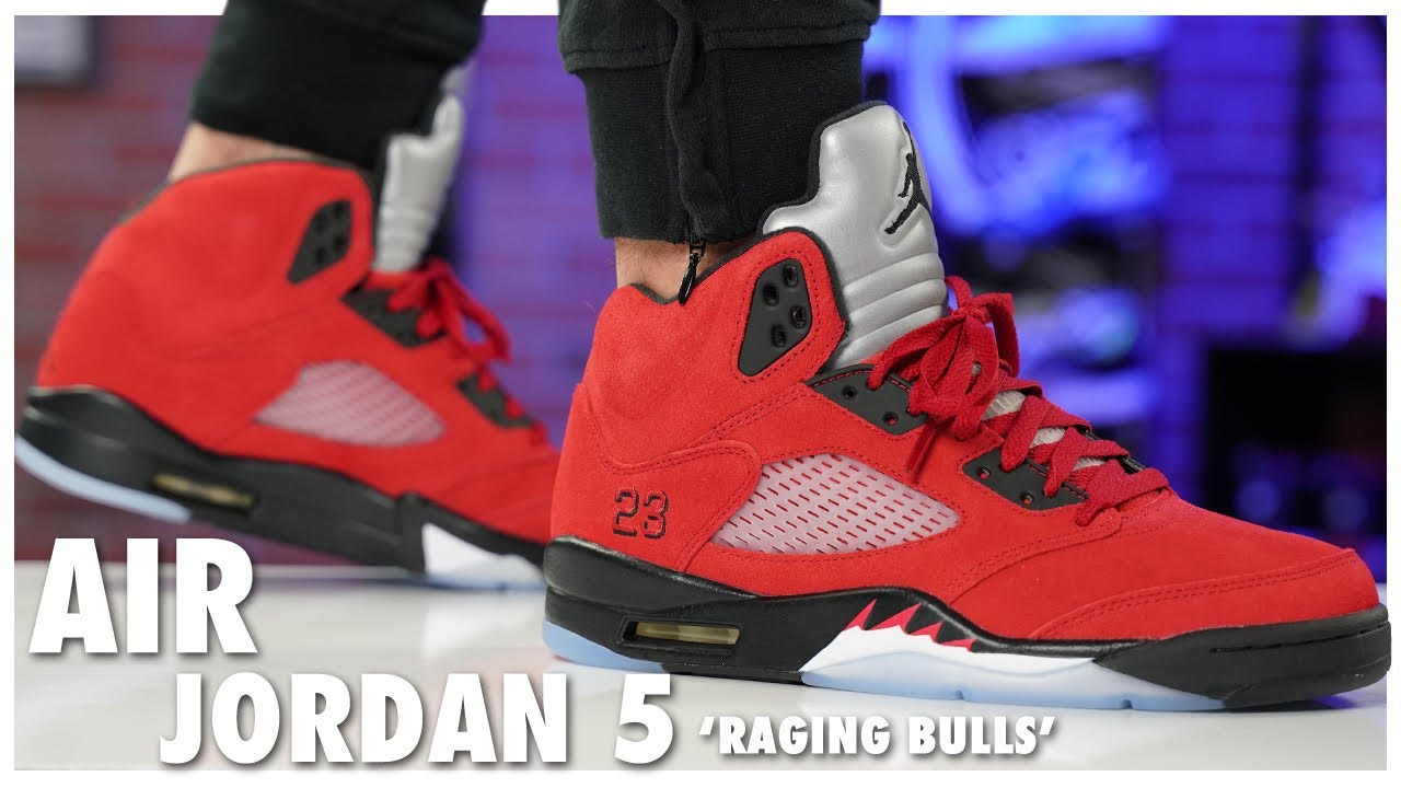 Air Jordan 5 Raging Bull