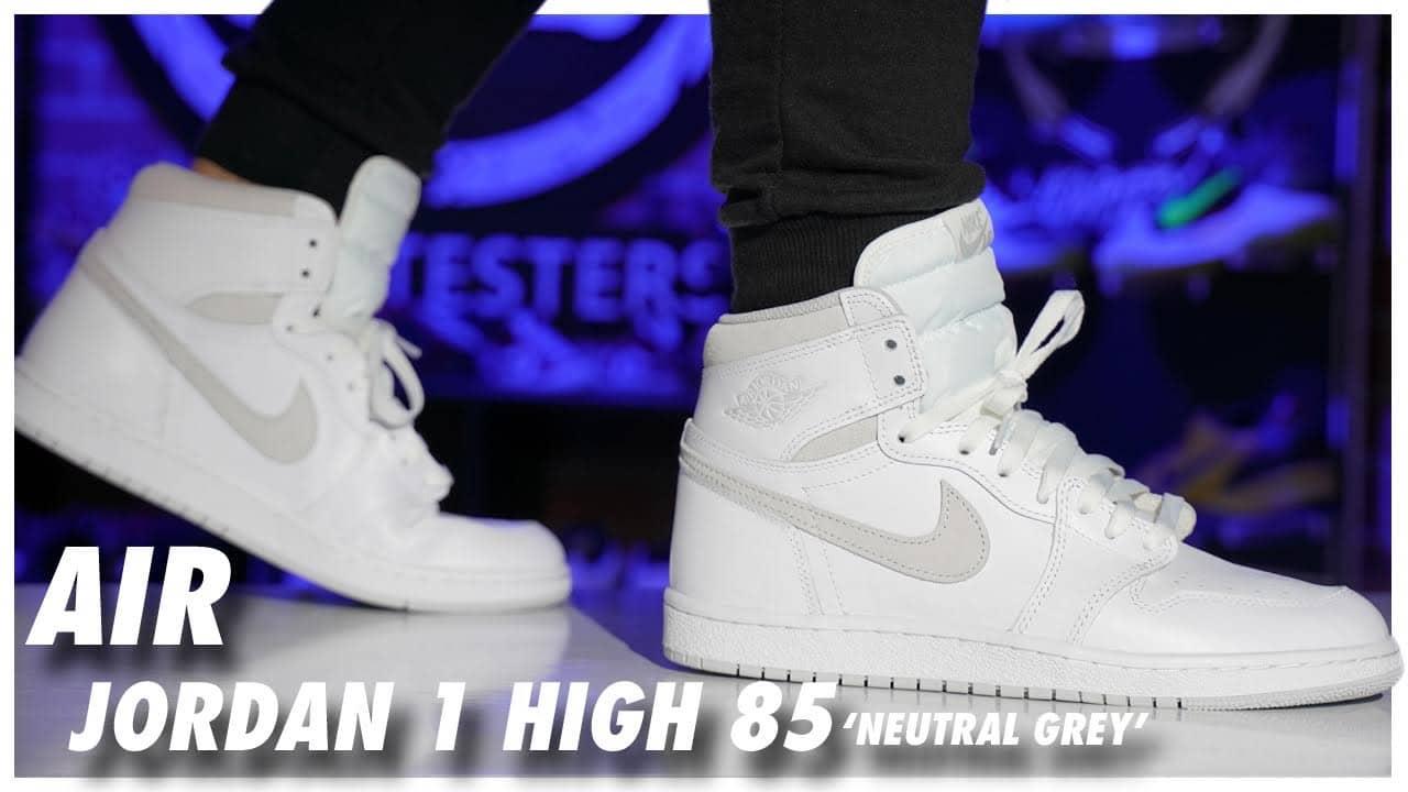 Air Jordan 1 High 85 Neutral Grey