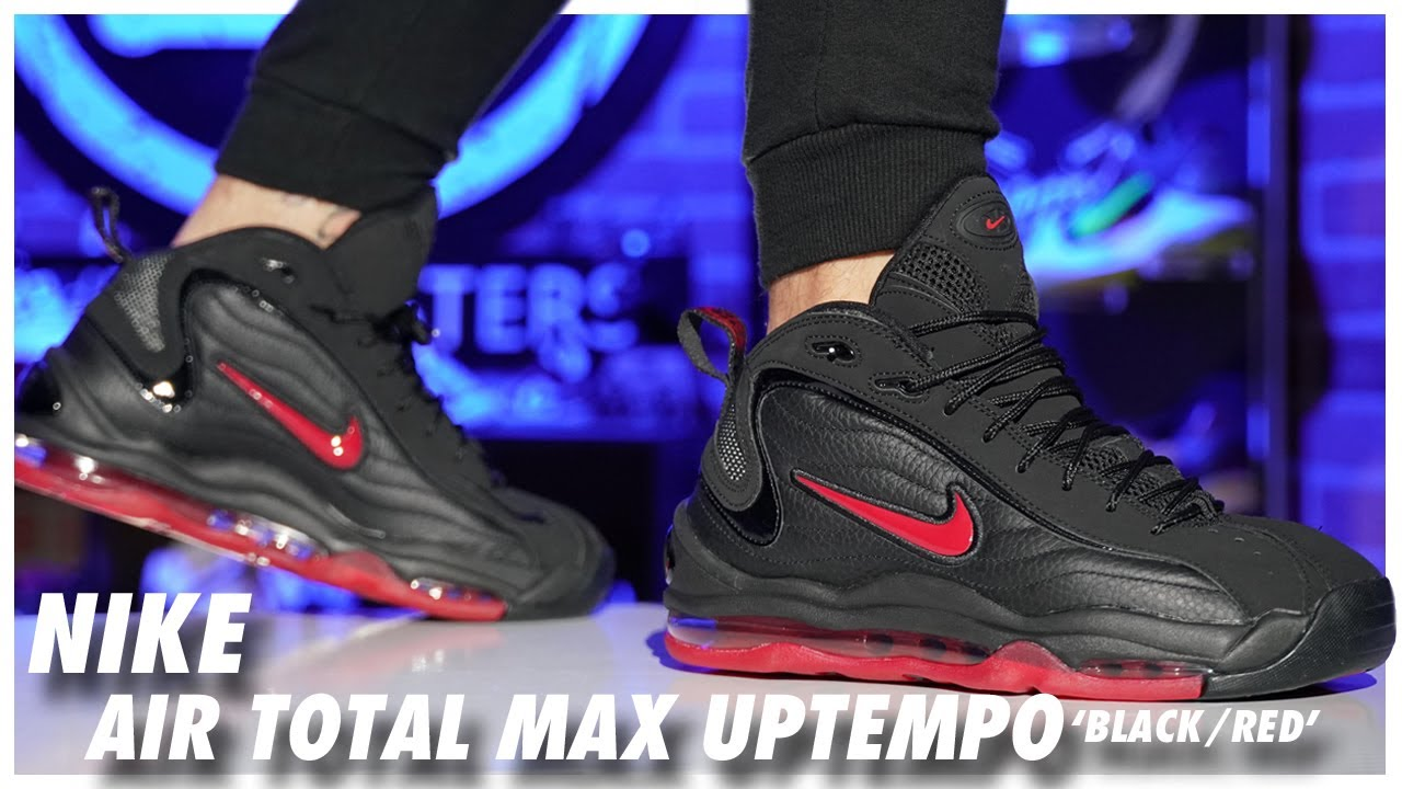 Nike Air Total Max Uptempo Black-Red