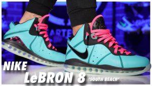 Nike LeBron 8 South Beach 2021