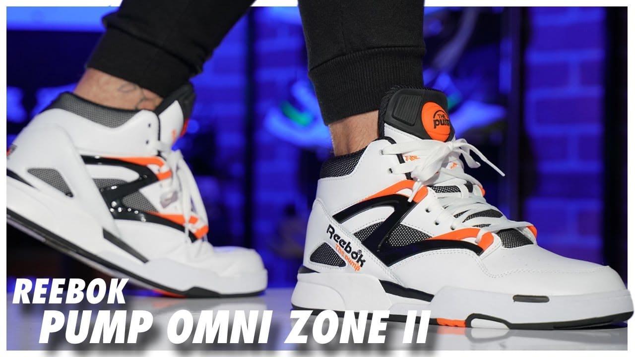 Reebok Pump Omni Zone 2 WhiteBlack-Wild