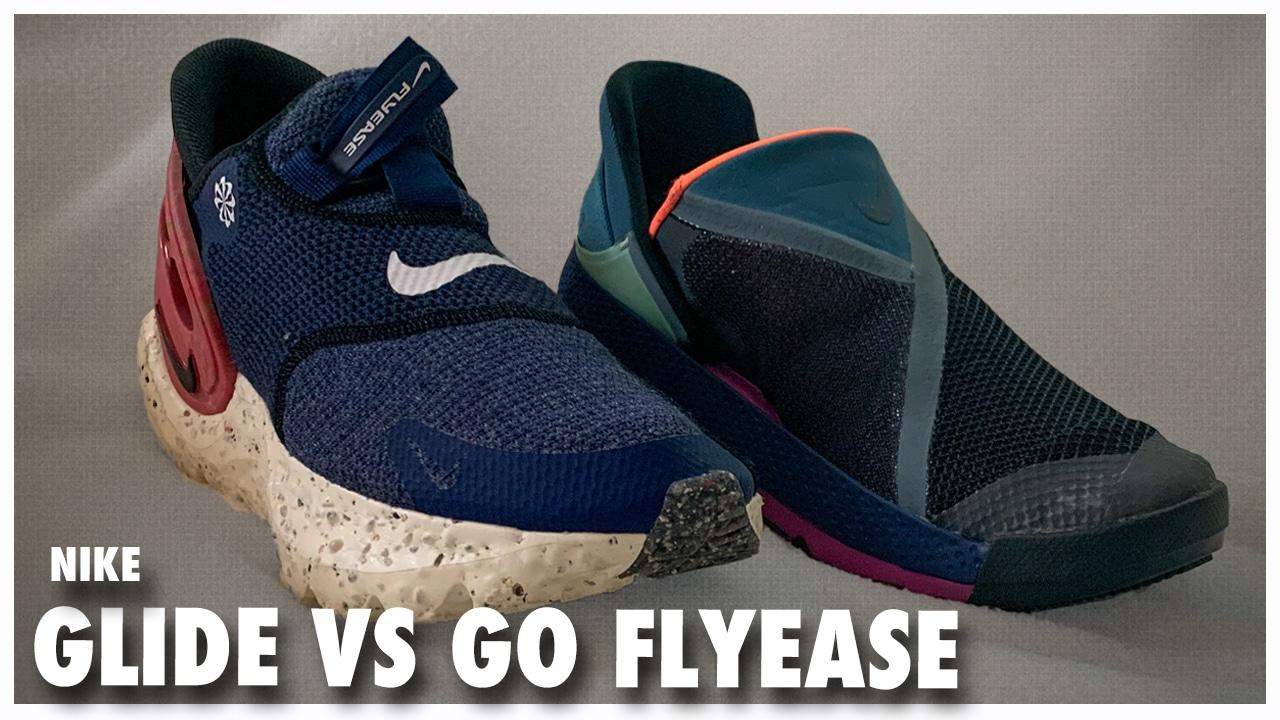 Nike Glide Flyease vs Go Flyease