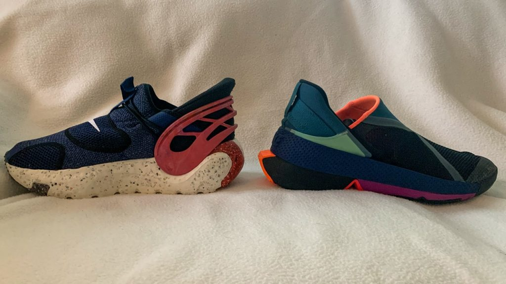 Nike Glide FlyEase vs Go FlyEase Materials