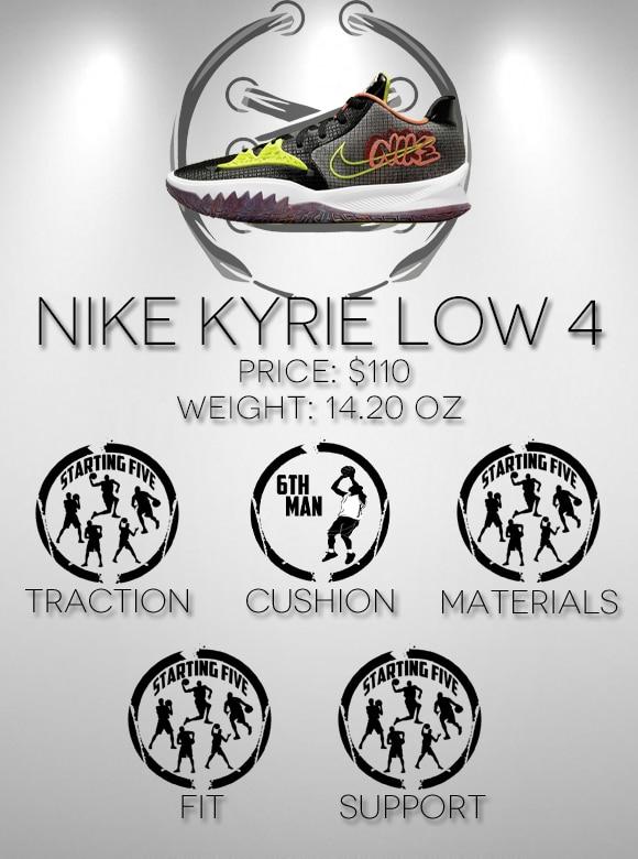 Nike Kyrie Low 4 Scorecard