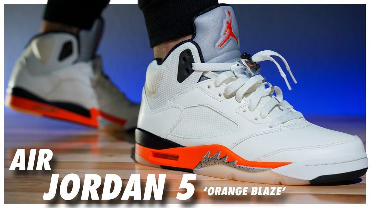 Air Jordan 5 Orange Blaze